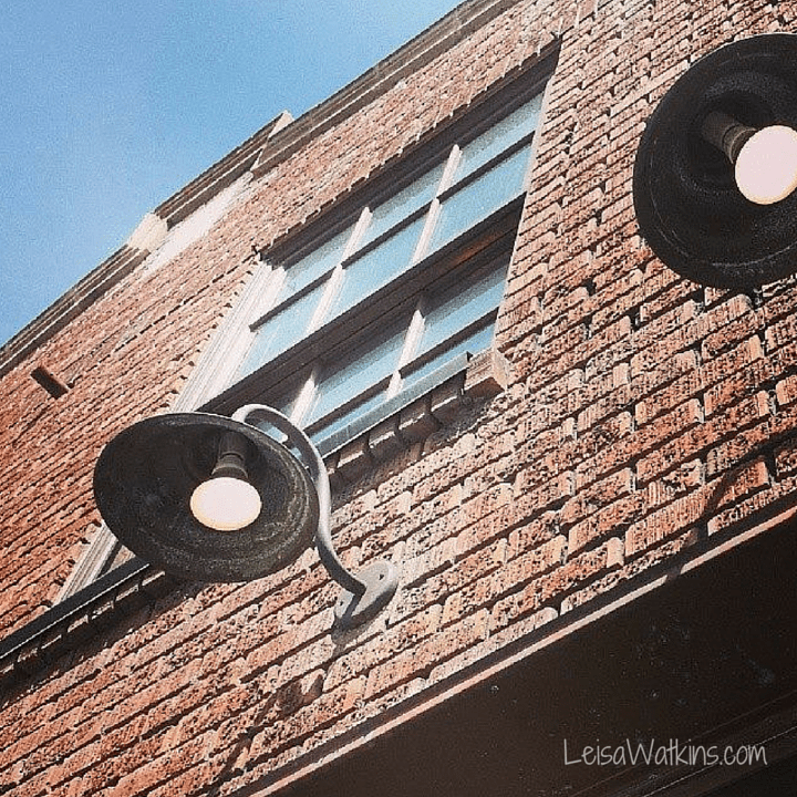 Building Lights | Park City Main Street by Leisa Watkins