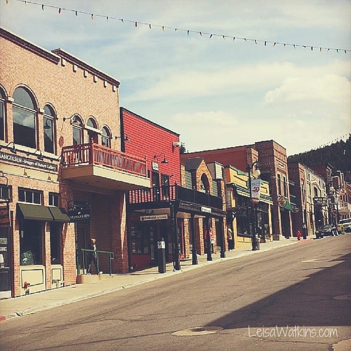 Park City Main Street by Leisa Watkins